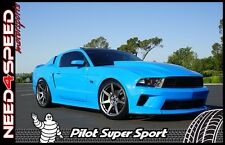 """20"""" Project 6GR Graphite Wheels & Tires Michelin Pilot SS for Mustang S550 S197"""