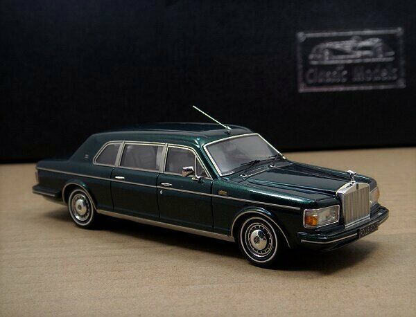 Rolls-Royce Silver Spur II Touring Limousine ,1992-1993 ,Green 1 43
