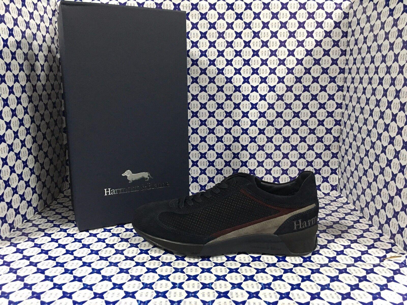 Scarpe HARMONT & & & BLAINE Uomo - scarpe da ginnastica Scamosciata Piedipull - Blu Navy - E9063 691bef