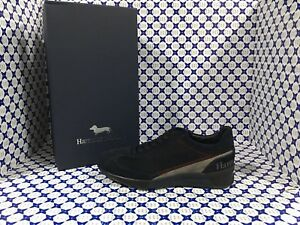 c19f9807dcfdc Image is loading Shoes-Harmont-amp-Blaine-Man-Sneaker-Suede-Houndstooth-