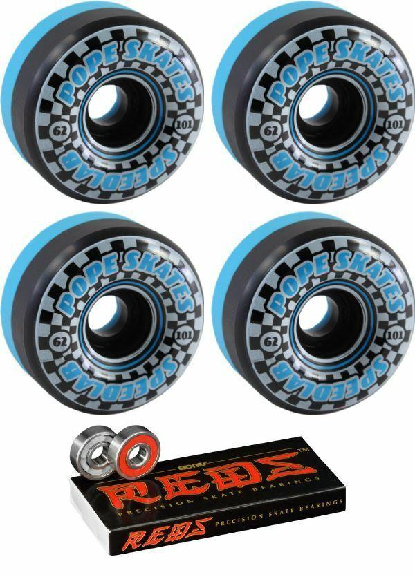 Speedlab Wheels   Speedsters S board Wheels - 62mm 101a + bearings  gorgeous