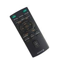 Remote Rm-anu159 Replaced F Sony Sound Bar Ht-ct60 /c Sa-ct60 Ss-wct60 W/b