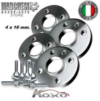 16mm KIT 4 DISTANZIALI X ALFA ROMEO GT 937 2004 2006 PROMEX ITALY 12mm