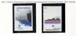 19168-UNITED-NATIONS-New-York-1983-MNH-Nuovi-Safety