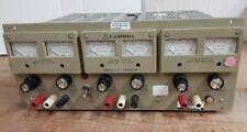 Lambda Lpt 7202 Fm Regulated Triple Output Power Supply Used