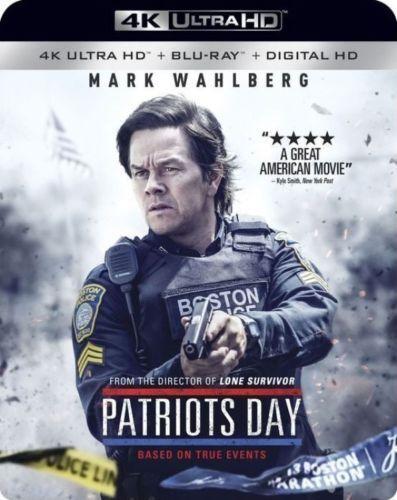 PATRIOTS DÍA (Mark Wahlberg) (4K ULTRA HD) - Blu-Ray - Region free