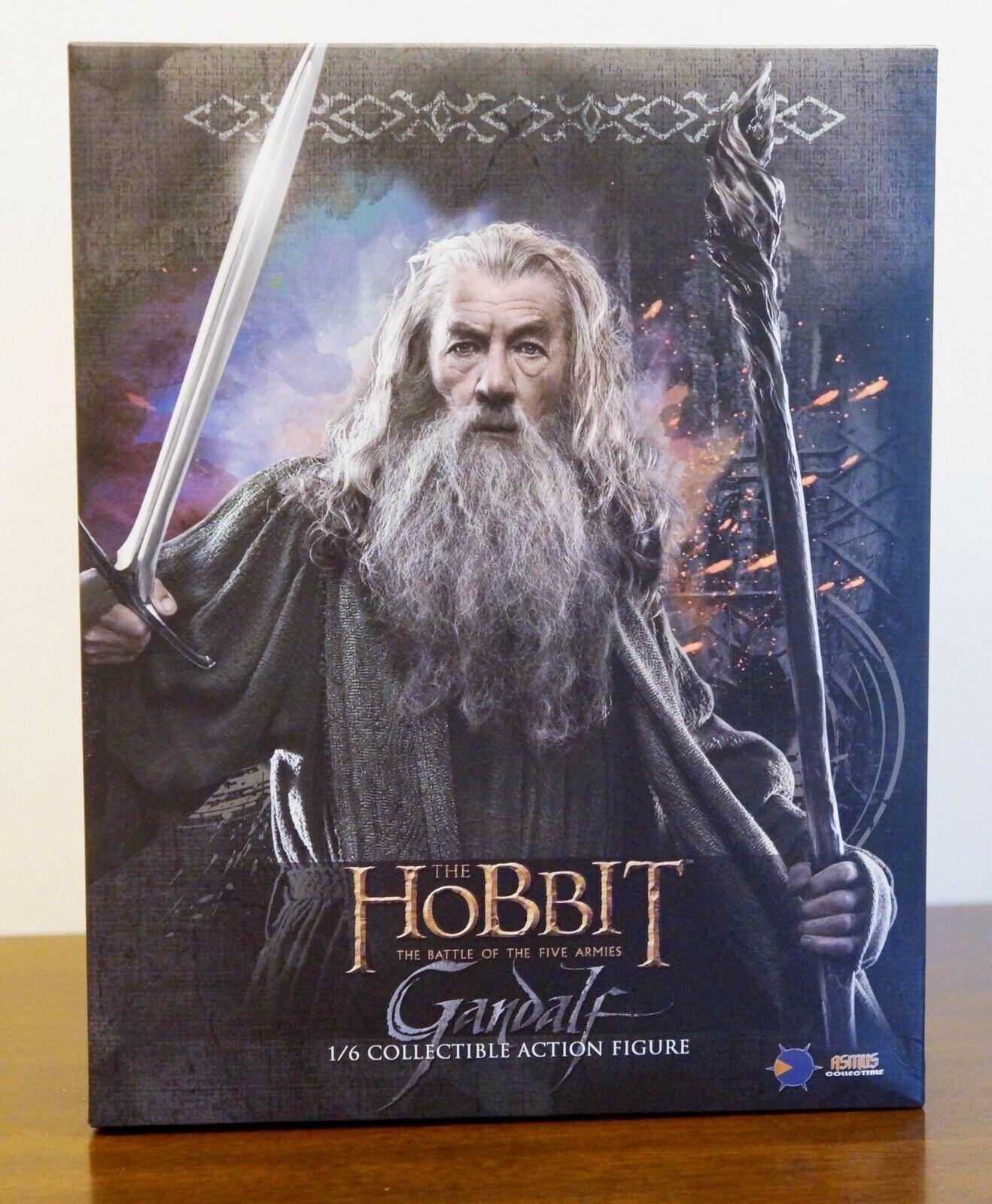 ASMUS giocattoli Deluxe Hobbit Gealf the grigio 1 6  Lord of the Rings - NIB  prendi l'ultimo
