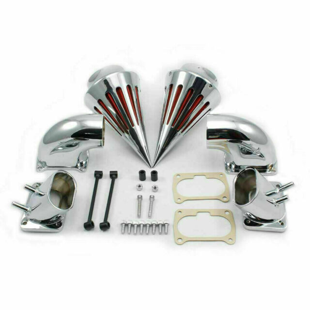 NEW Chrome Spike Air Cleaner Intake Filter For Suzuki Boulevard M109 S TP