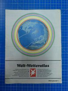 stern Welt Wetteratlas 1970er Jahre To361