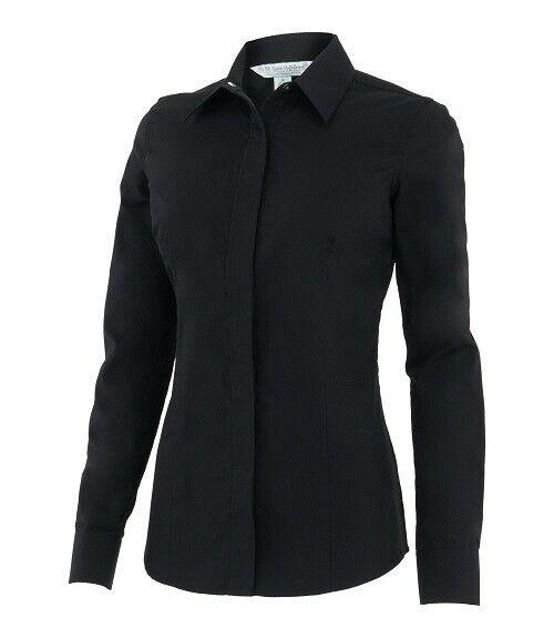 Noble ecuestre Xsmall Ajuste perfecto Mostrar Camisa en Negro