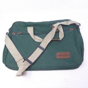 4b76f789967 Leeds Northern Trust North West Canvas Tote Bag Laptop Briefcase EUC ...