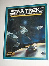 Vintage FASA Star Trek Role Playing Game STARSHIP TACTICAL COMBAT SIMULATOR 2003