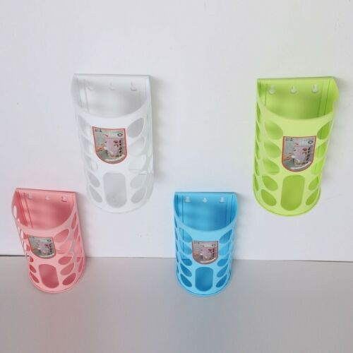 Kitchen Bag Holder Dispenser Box Wall Mount Recycle Fashion Plastic Storage
