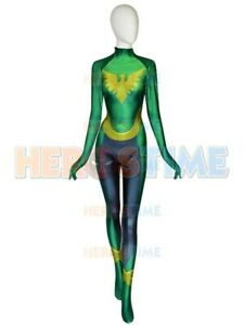 X-men Blue Young Phoenix Cosplay Costume 3D Print Lycra Bodysuit Custom Made