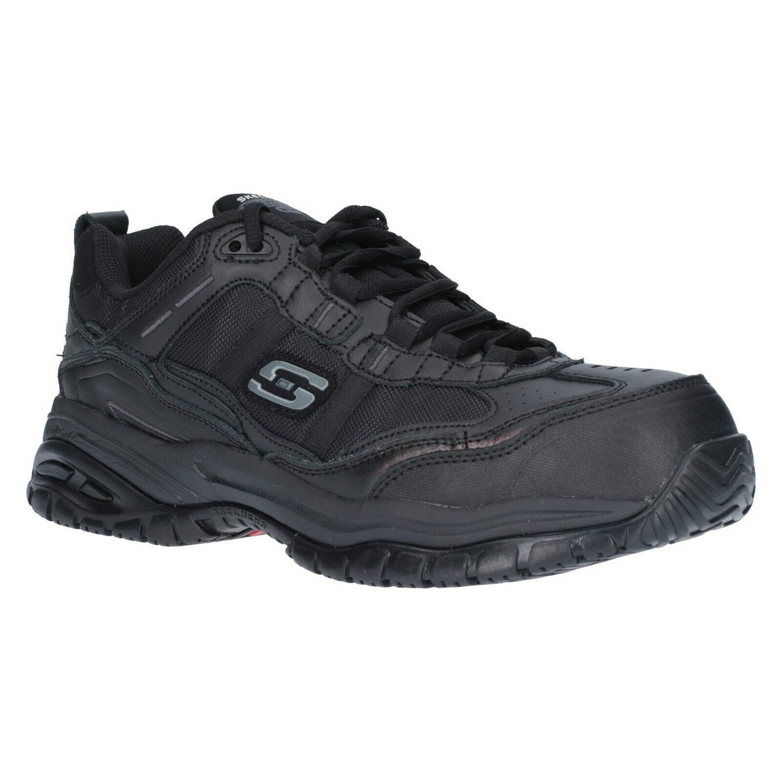 Skechers Soft Stride Chaussures de sécurité homme composite Toe en mousse à mémoire de Travail paniers