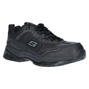 Details about Skechers Soft Stride Safety Shoes Mens Composite Toe Memory  Foam Work Trainers