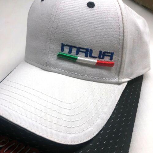 ITALIA BALL CAP Italy Baseball cap Azzurri 3D puff embroidered hat FORZA AZZURRI