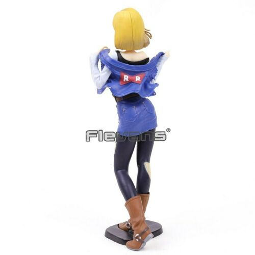 CAJA DRAGON BALL GALS FIGURA ANDROIDE NO.18 C18 // ANDROID NO 18 FIGURE 18cm