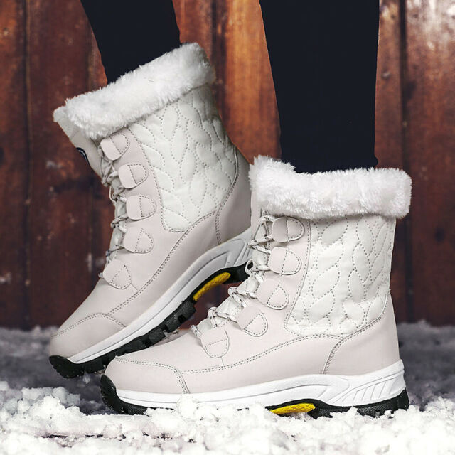 Genuine Leather Natural Fur Wool Lined Women Winter Snow Boots Short Ankle Winter Shoes for Women Green