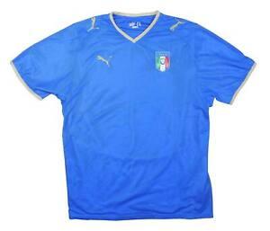 ITALIA 2007-08 ORIGINALE Maglietta (eccellente) XL soccer jersey