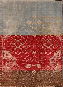 Rugsource-Brand-Modern-Abadeh-Oriental-Hand-Knotted-Area-Rug-Floral-Carpet-5x7