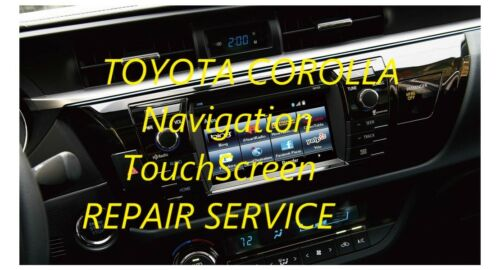 04-18 TOYOTA NAVIGATION TOUCH SCREEN GLASS Digitizer REPLACEMENT ...