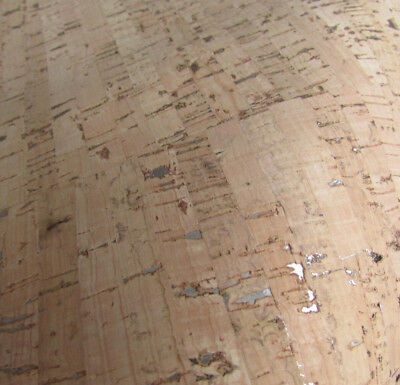 Cork Fabric Cork Leather Natural with GOLD inclusions per 50cm