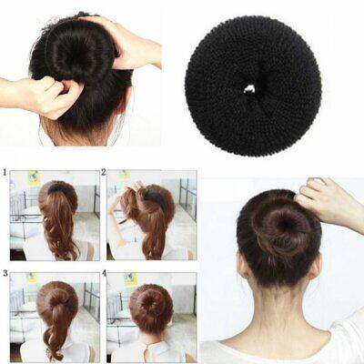 Duttstyler SCHWARZ Duttkissen Dutt Volumen Frisurenhilfe Knotenrolle Hair Bun 8 | eBay