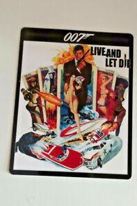 LIVE AND LET DIE 007 James Bond - Steelbook Magnet Cover (NOT LENTICULAR)