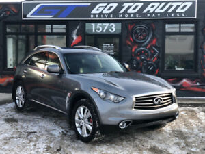 2014 Infiniti QX70 Premium V6 AWD SUV - Nav, cam, leather,roof