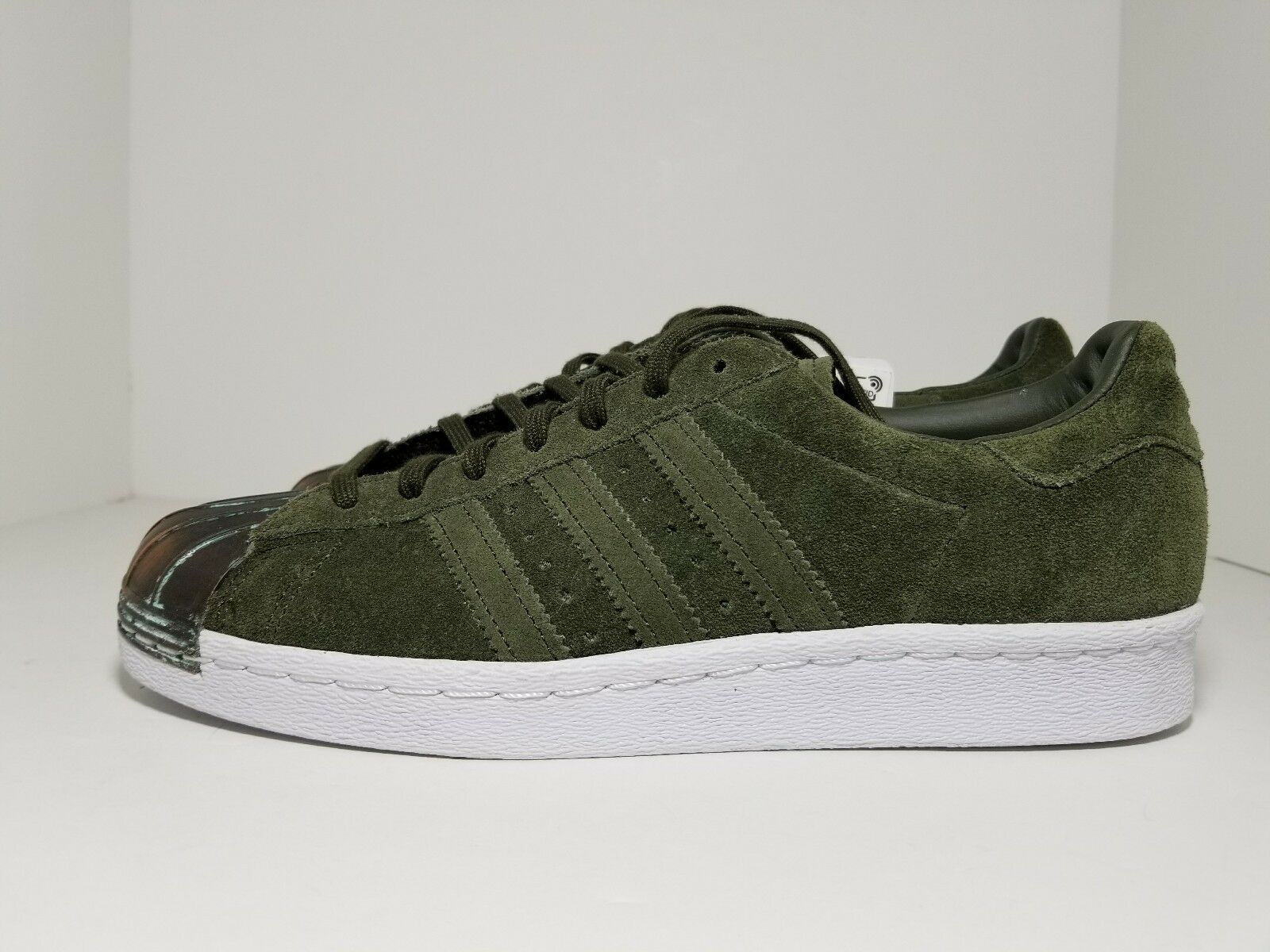 Details about Adidas Originals Superstar 80s Metal Toe Night Cargo CQ3105 Women's Shoes Size 8