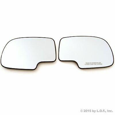 Driver /& Passenger Left Right LH RH Red LED Turn Signal Heated Mirror Side Glass