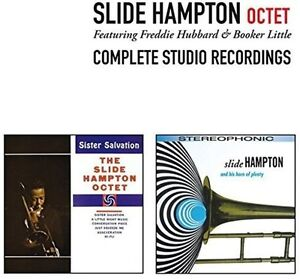 Slide-Hampton-Octet-Complete-Studio-Recordings-3-Bonus-Tracks-New-CD-Spain