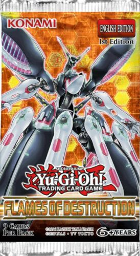 Network Trap Hole FLOD-EN076 Ultra Rare Yu-Gi-Oh Card 1st Edition English New