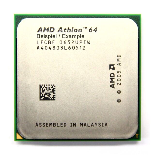 AMD Athlon 64 3200+ 2GHz/512KB ADA3200IAA4CN Sockel/Socket AM2 Desktop-CPU