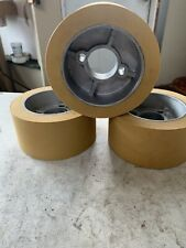 Rubber Power Feeder Roller Wheels Ro 12 Set Of 3 For Most 1hp Feeders