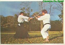 181 NUNCHAKU STICKER VIGNETTE FIGURINE KUNG FU KARATE FRANCE 1976
