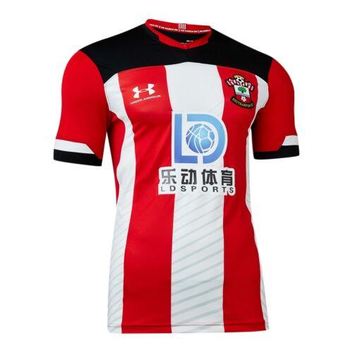 Under Armour Official Mens Southampton FC Home Football Shirt Jersey Top 2019-20