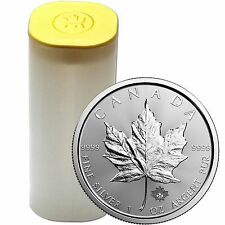 2017 Canada Silver Maple Leaf 1oz BU 25pc in Tube