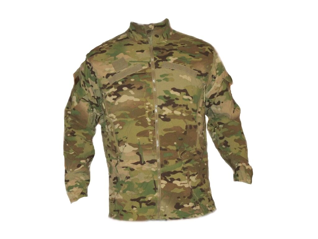 Us Army multicam ocp Ecwcs Gen III level 4 viento camisa chaqueta outdoor small regular