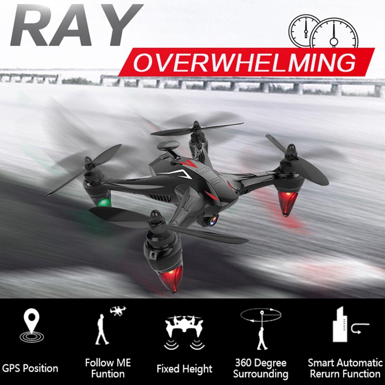 Drone con GPS 5G Wifi 1080P Cámara FPV sin escobillas vuelo nocturno Cuadricóptero helicóptero