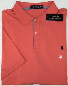 NWT-89-Polo-Ralph-Lauren-Short-Sleeve-Red-Shirt-Mens-NEW