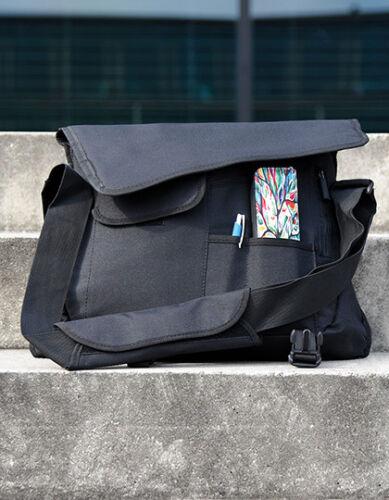 Messenger Bag Borsa a tracolla con scomparto laptop extra scomparti SCUOLA UNI ufficio tempo libero