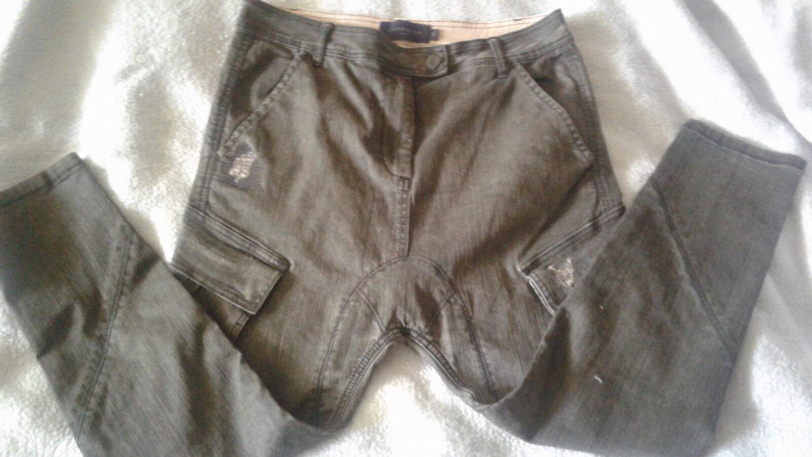Liebeskind Hose, Größe W 31, dunkelgrün,