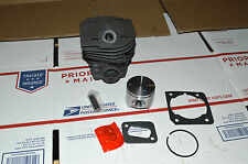 New Cylinder piston kit Nikasil Husqvarna 346xp 350 351 353 44mm gasket Chainsaw