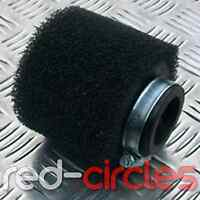 BLACK 38mm PIT DIRT BIKE PERFORMANCE DOUBLE FOAM AIR FILTER 125cc 140cc PITBIKE