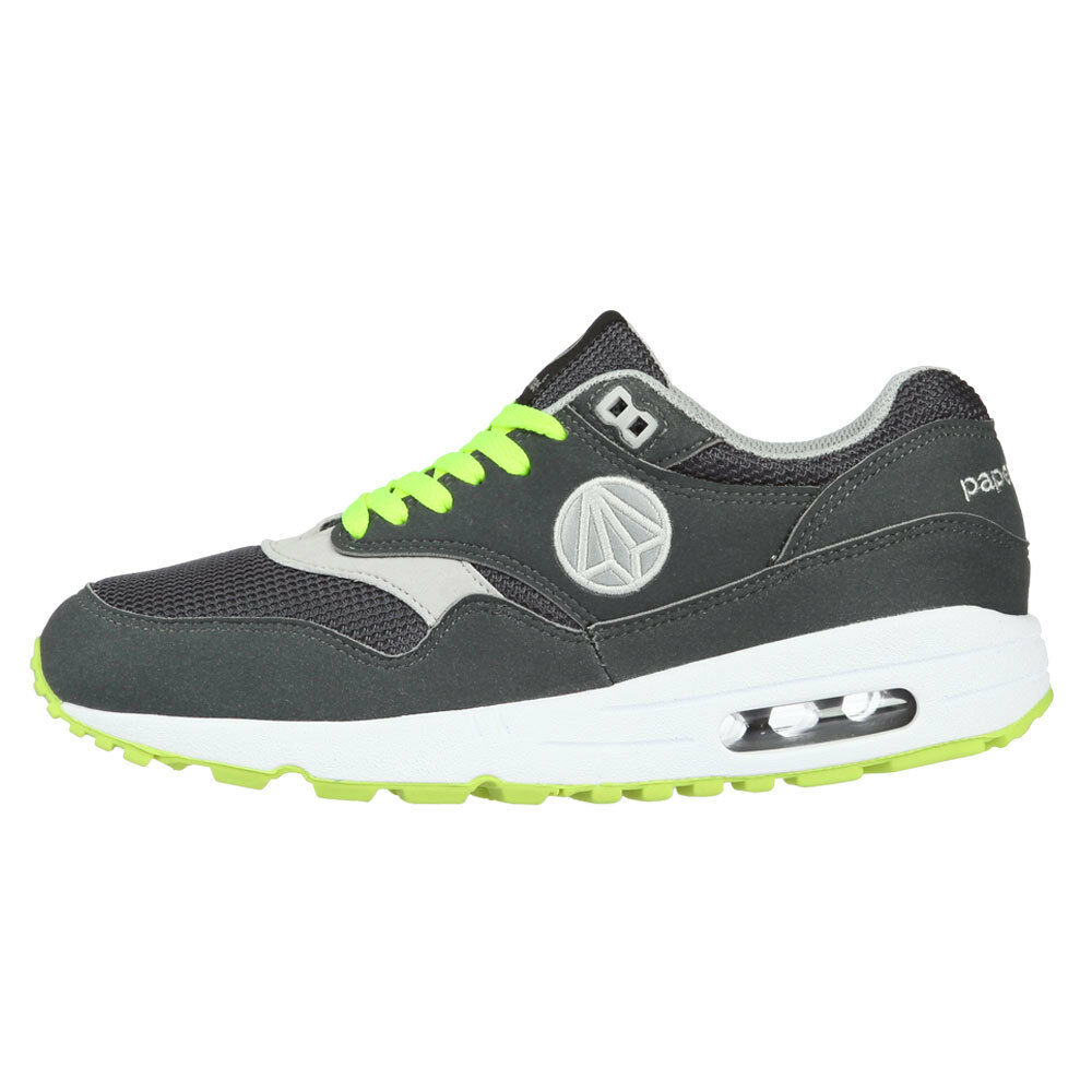 PaperPlanes Athletic shoes Air Running Leather Sneakers Men M PP1317 GRGN