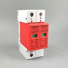 SPD 1P+N 30KA~60KA D ~385VAC House Surge Protector Protective Device