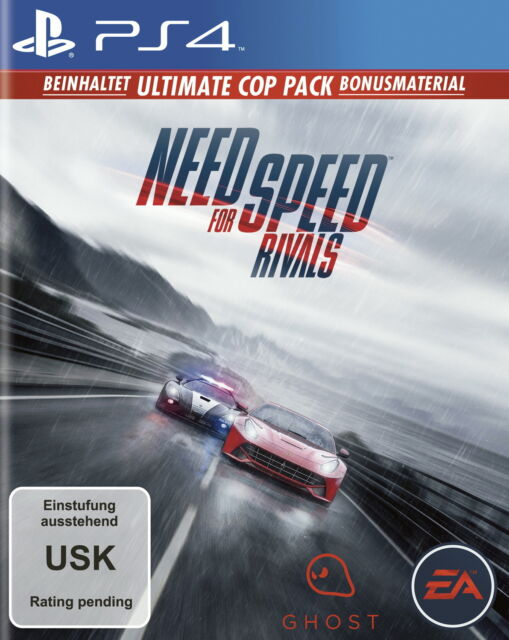 Need For Speed: Rivals -- Limited Edition (Sony PlayStation 4, 2013, DVD-Box)