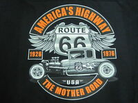 Hot Rod Rat Rod Route 66 5 Window Coupe Work Shirt Dickies Button Up Garage